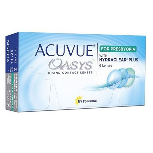 ACUVUE OASYS 2-Week for Presbyopia (Multifocal)