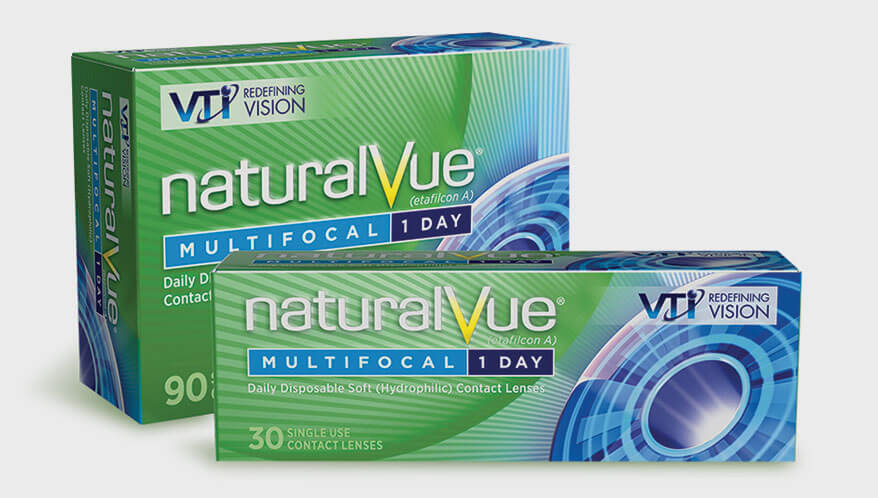 Naturalvue Soft Multifocal 1-Day Contact Lenses